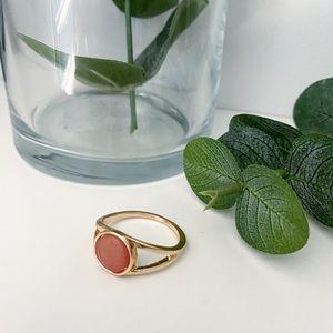 ASOS Curve Gold Tone Ring